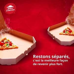 Pizza Hut Maroc Stay safe
