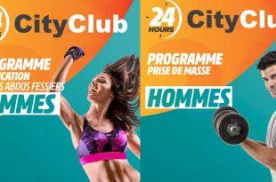 Programmes D'entrainement CityClub