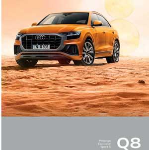 Catalogue AUDI Q8