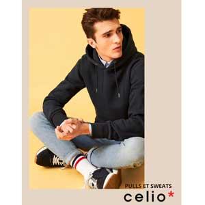 Catalogue Celio Pulls et Sweats