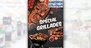Catalogue Marjane Spécial Grillade