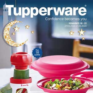Catalogue Tupperware Cadeau de Recrutement