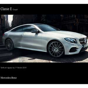Mercedes Benz Classe E Coupé