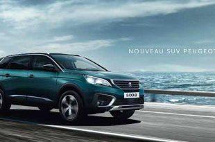 Nouveau Suv Peugeot 5008