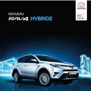 Nouveau Toyota Rav4 Hybrid