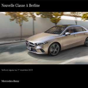 Nouvelle Classe A Berline