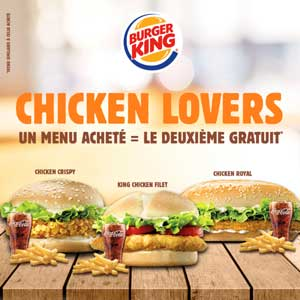 burger king Buy One Get One Free
