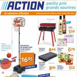 Catalogue Action Du 7 Au 13 Juillet 2021